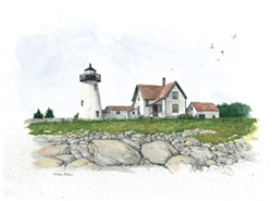 Ned's Point Light circa 1930's