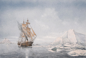 Whaler Fire and Ice, Charles W. Morgan